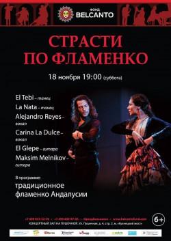 Концерт Страсти по Фламенко