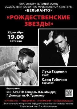 Концерт Рождественские звезды