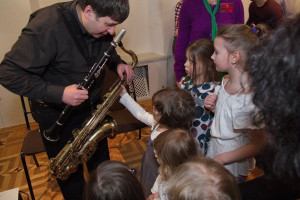 Ирландское джазовое шоу для самых маленьких