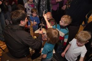 Джазовое шоу для самых маленьких