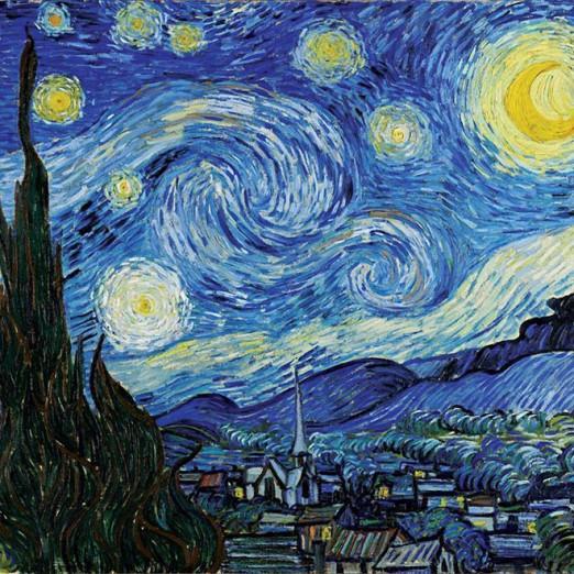 Концерт Проект «Звучащие полотна». Ван Гог.  Вивальди. Времена года.  Моцарт. Маленькая ночная серенада.  Бах. Токката и фуга ре минор