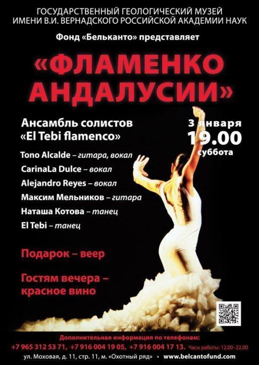 Концерт Фламенко Андалуссии