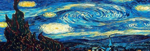 Концерт «Звучащие полотна. Ван Гог» Моцарт. Маленькая ночная серенада. Вивальди. Времена года. И. С. Бах. Токката и фуга ре минор