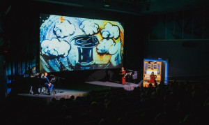 Сказка с органом и песочной анимацией «Муми-тролли. Шляпа волшебника»
