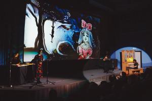 Сказка с органом и песочной анимацией «Приключения Буратино или Золотой ключик»