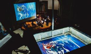Сказка с органом и водной анимацией-эбру «В пещере горного короля или Пер Гюнт»