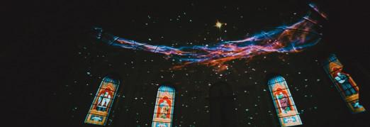 Концерт «Моцарт. Реквием. Пушкин. Моцарт и Сальери». Видеоинсталляция: Вселенная глазами телескопа Hubble