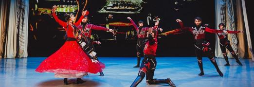 Концерт «Звучащие полотна. Пиросмани» Грузинские танцы, многоголосие и песочная анимация