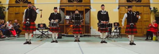 Концерт «Волынки, ирландские танцы и барабаны»