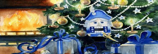 Концерт Рождественская сказка с песочной анимацией «Щелкунчик»