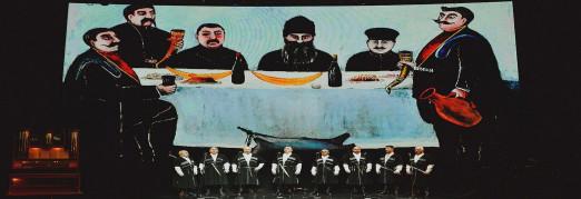 Концерт «Пиросмани-шоу. Грузинское многоголосие, танцы и песочная анимация»