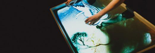 Концерт Сказка с органом и песочной анимацией «Дикие лебеди»