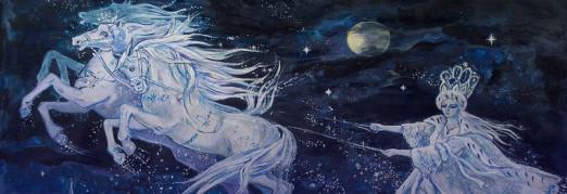 Концерт Сказка с органом и песочной анимацией «Снежная королева»