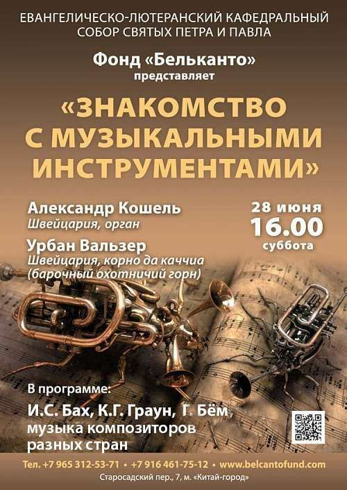 Концерт Знакомство с музыкальными инструментами