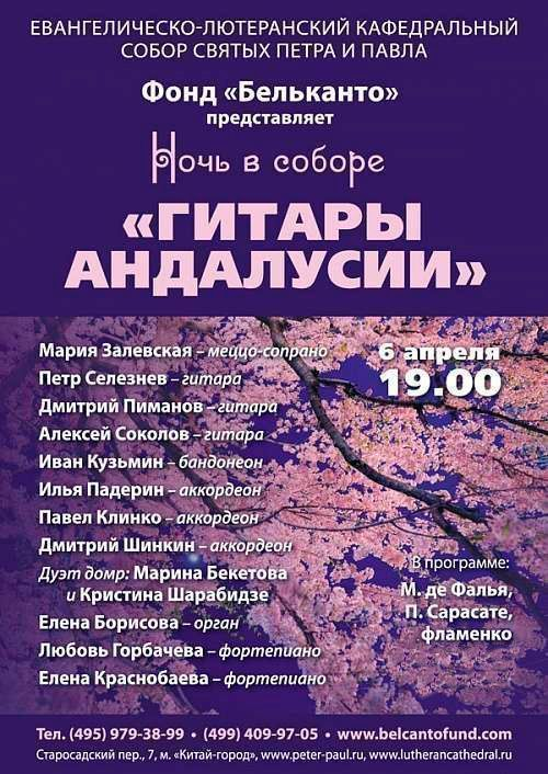 Концерт Гитары Андалусии