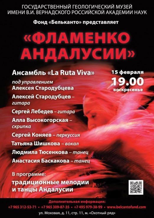 Концерт Фламенко Андалусии