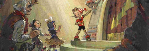Концерт Сказка с песочной анимацией «Приключения Буратино или Золотой ключик»