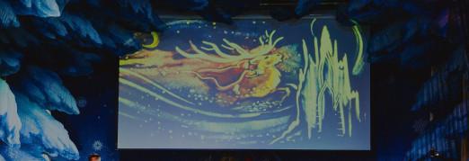 Концерт Музыкальная сказка с песочной анимацией «Снежная королева»