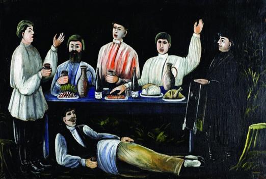 Концерт «Звучащие полотна. Пиросмани». Грузинский хор, орган, дудук и танцы
